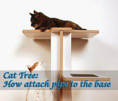 Cat Furniture To Make Recycled Or Simple Tools Required