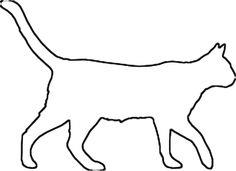 Cat Templates - Clip Art, Stained Glass Patterns, Pumpkin Carving