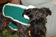 Dog Sweater with Stripe