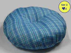 Round Pillow Dog Bed Pattern