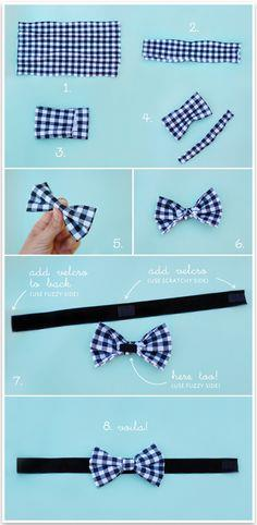 DIY NO-SEW WEDDING BOW TIE