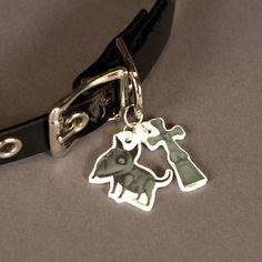 Frankenweenie Dog Collar Charms