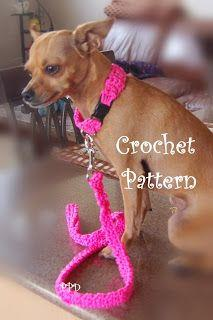 Posh Pooch Designs Dog Clothes: Cord Dog Collar and Leash Free Crochet Pattern