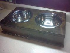 Raised Pet Feeder - Small | Do It Yourself Home Project