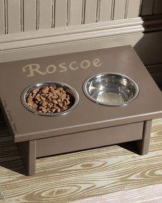Dog Dining Station Tutorial