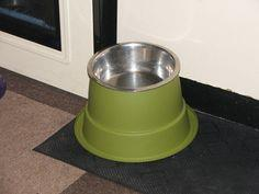 Plantpot dog dishes tutorial