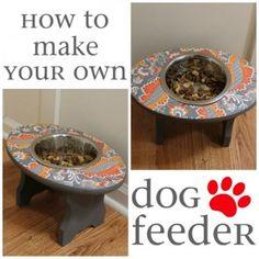 Super Simple Dog Feeder