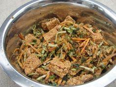 Kibble and Vegetable Mixture Recipe