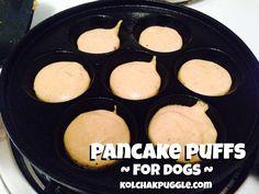 Pancake Puffs for Dogs