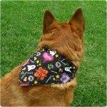 Gleeful Things » DIY Tutorial: Reversible Dog Bandanas