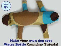 Dog Toy Patterns - How to Make a Water Bottle Cruncher