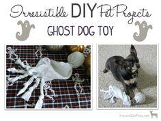 DIY Ghost Dog Toy