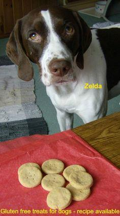 Gluten Free Treats For Dogs
