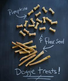 Pumpkin & Flax Seed Good-Dog Treats