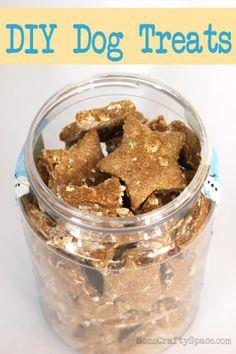 Homemade Puppy Dog Treats