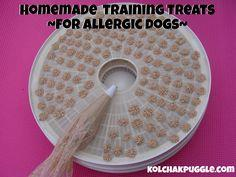 OMEMADE TRAINING TREATS FOR DOGS WITH ALLERGIES