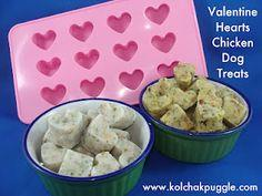 TASTY TUESDAY: HEARTS FOR MY VALENTINE CHICKEN DOG TREATS