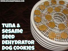 TASTY TUESDAY: TUNA & SESAME SEED DEHYDRATOR DOG TREATS