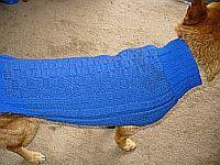 854a343d2ebe2e 100 Dog Sweater Patterns to Knit at DogCatPin.com