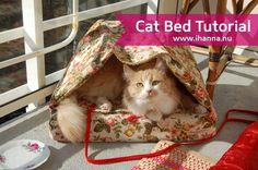 Handmade Cat Tent/Bed
